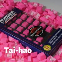 Tai-Hao TPR Rubber Backlit Double Shot 22 Keys - Neon Pink